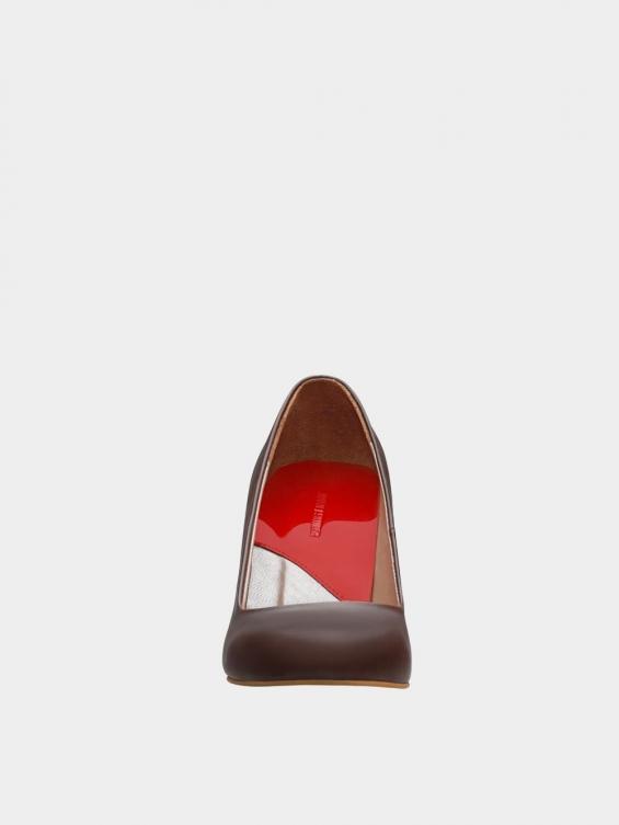 کفش مجلسی زنانه 361 WS3101  قهوه ای نمای جلو