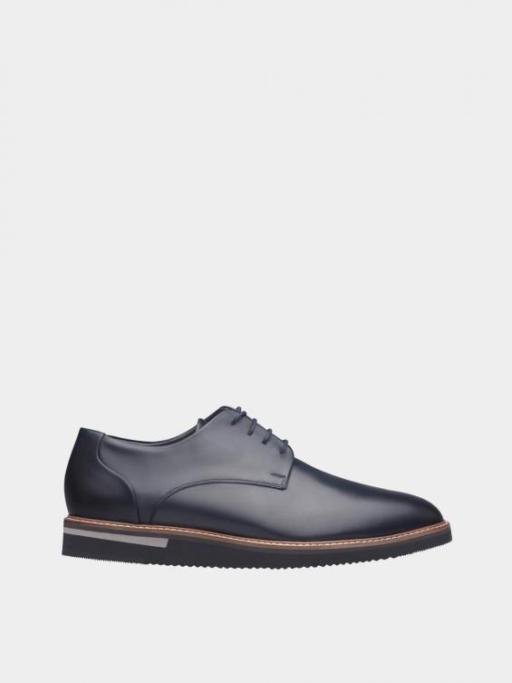 کفش اسپورت مردانه 7041 MS2510 سرمه ای راست