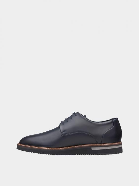 کفش اسپورت مردانه 7041 MS2510 سرمه ای چپ