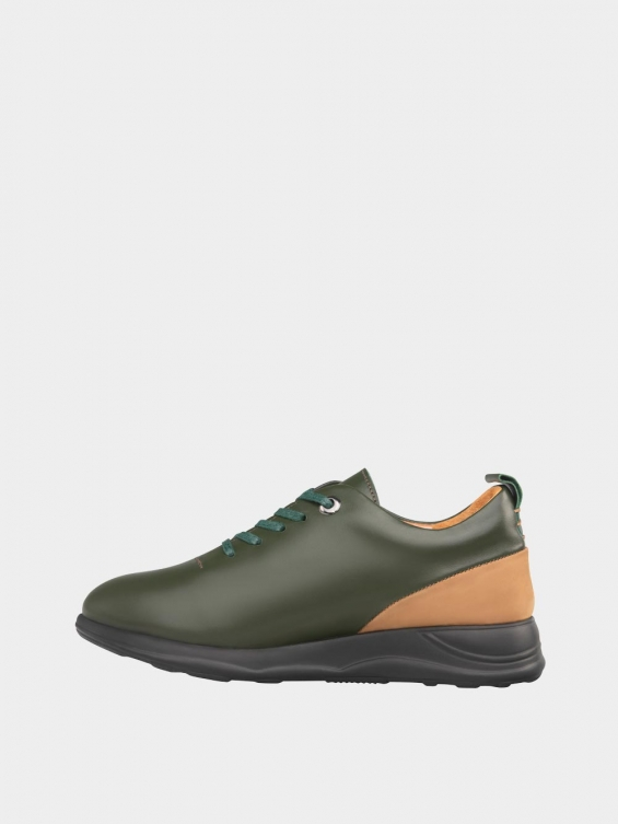 کفش اسپورت زنانه 1353 WS3220 یشمی چپ