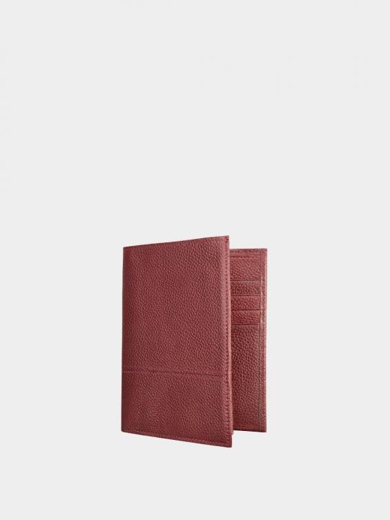 کیف جیبی سه آلبوم اسرار PE2529 زرشکی نمای پشت