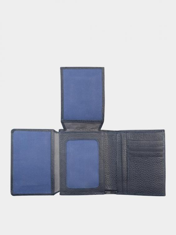 کیف جیبی سه آلبوم اسرار PE2529 سرمه ای نمای داخل