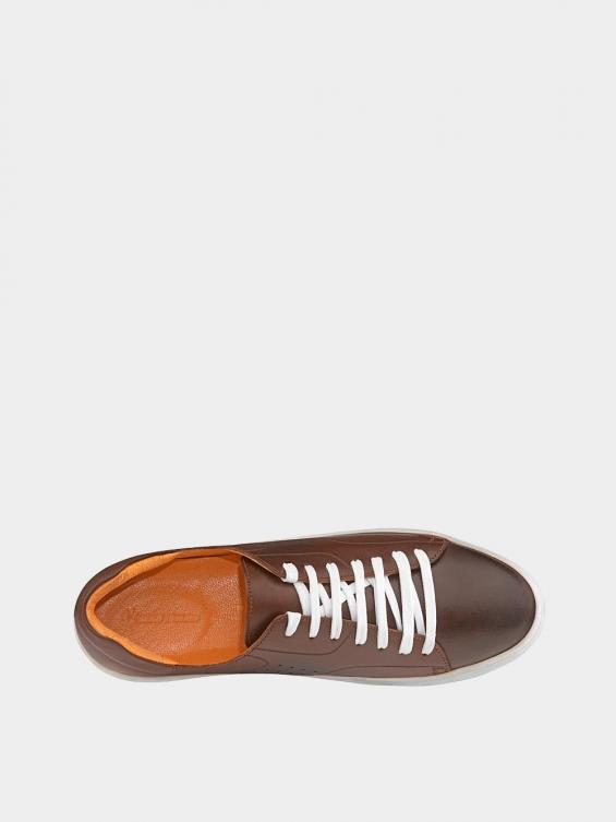 کفش اسپورت مردانه 6014 MS2514 قهوه ای داخل
