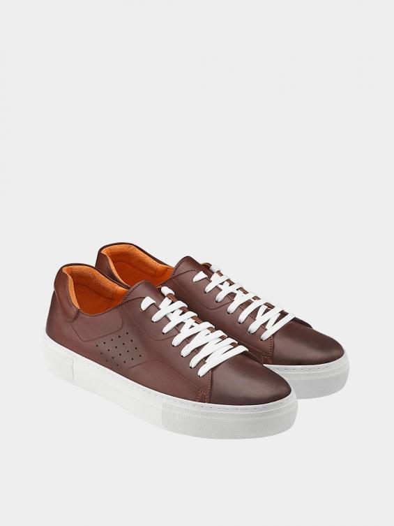 کفش اسپورت مردانه 6014 MS2514 قهوه ای جفت
