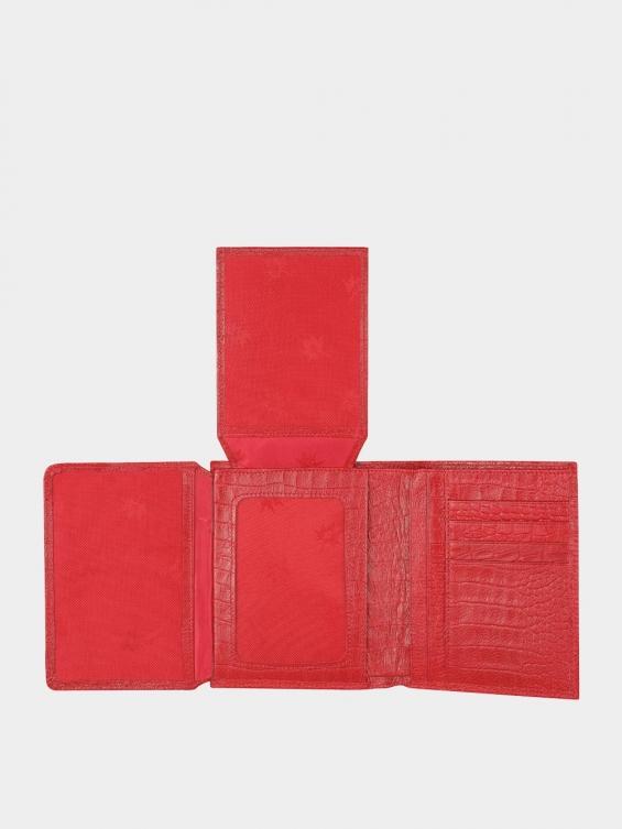 کیف جیبی سه آلبوم اسرار PE2529 کوروکو قرمز داخل