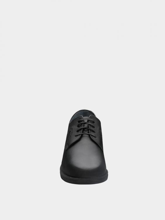 کفش کلاسیک مردانه 1063 MS2186 مشکی نمای جلو
