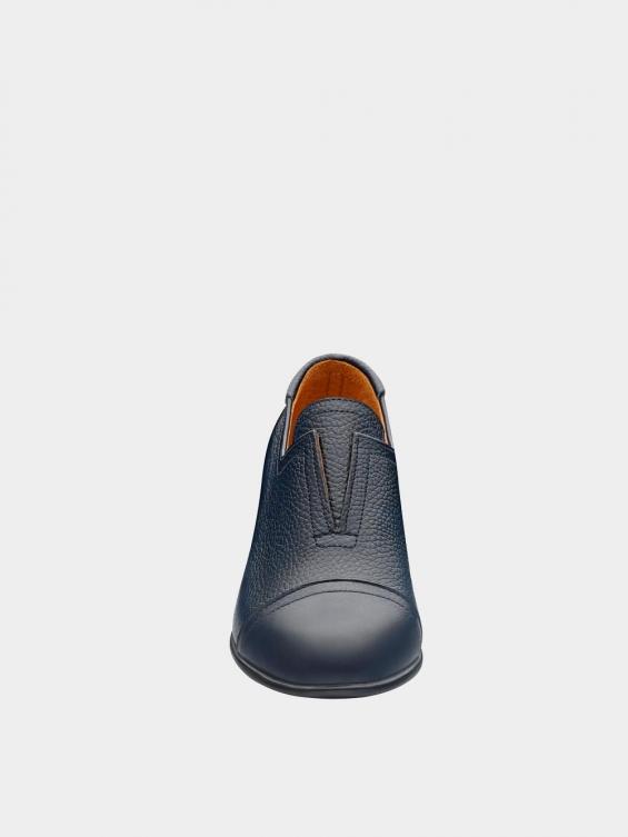 کفش مجلسی زنانه 1350 WS3223  سرمه ای نمای جلو