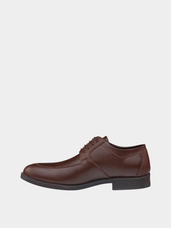 کفش کلاسیک مردانه بندی 1018 MS2506  عسلی چپ