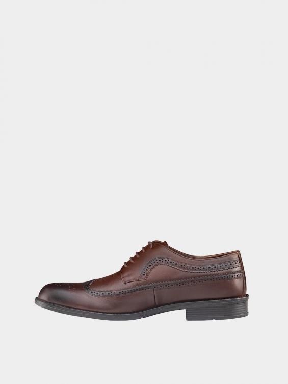 کفش کلاسیک مردانه MS2345 775 قهوه ای چپ