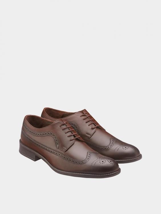 کفش کلاسیک مردانه MS2345 775 قهوه ای جفت
