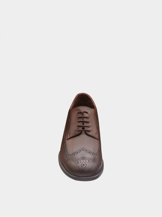 کفش کلاسیک مردانه MS2345 775 قهوه ای نمای جلو
