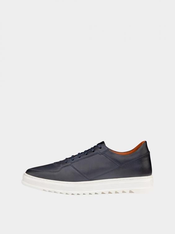 کفش اسپورت مردانه 7014 MS2520 سرمه ای چپ