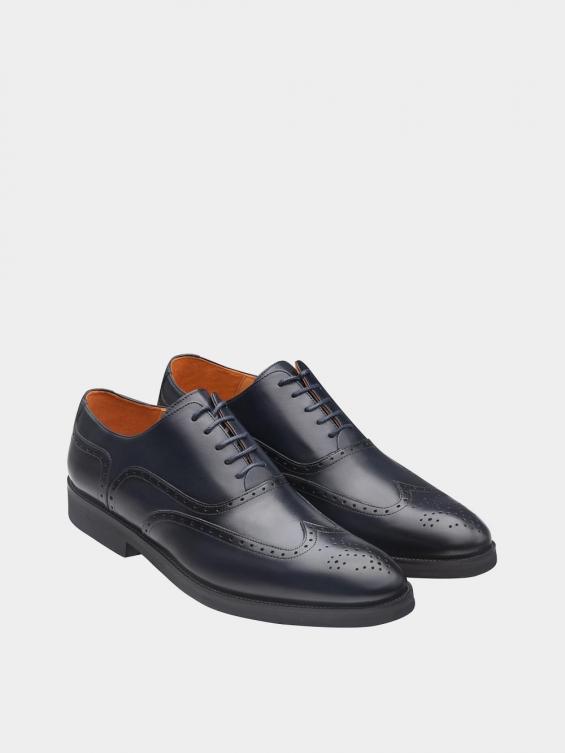 کفش  کلاسیک مردانه 6041   MS2511 سرمه ای جفت