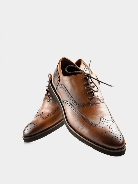 کفش  کلاسیک مردانه 6041   MS2511 عسلی جفت