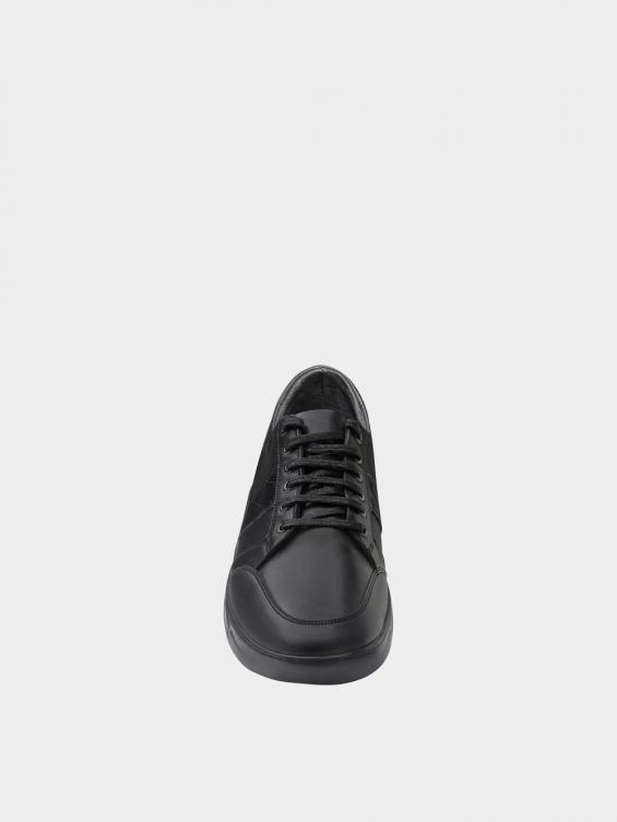 کفش اسپورت مردانه 1371 MS2795 مشکی نمای جلو