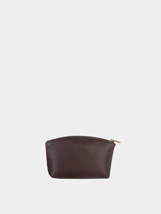 کیف آرایشی لوسیا CBX0343 قهوه ای نمای پشت