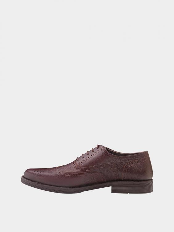 کفش کلاسیک مردانه کیمبرلی MS2030 قهوه ای نمای چپ