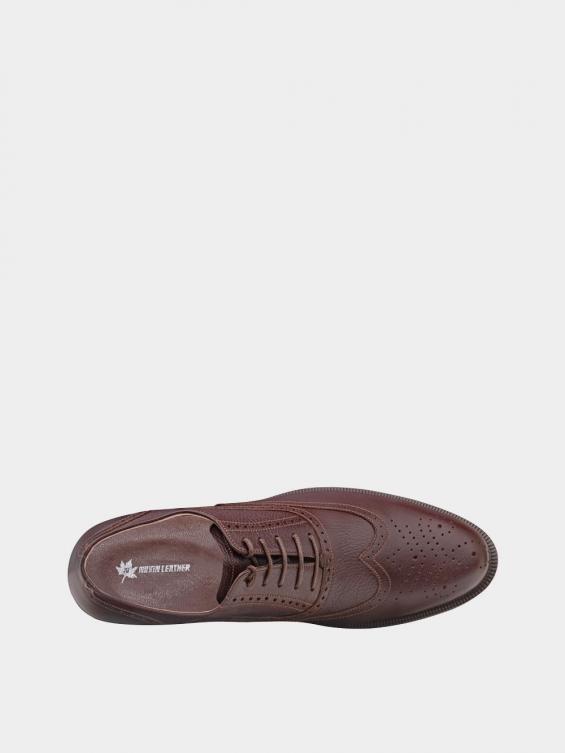 کفش کلاسیک مردانه کیمبرلی MS2030 قهوه ای نمای داخل