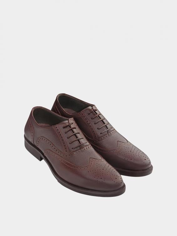 کفش کلاسیک مردانه کیمبرلی MS2030 قهوه ای نمای جفت