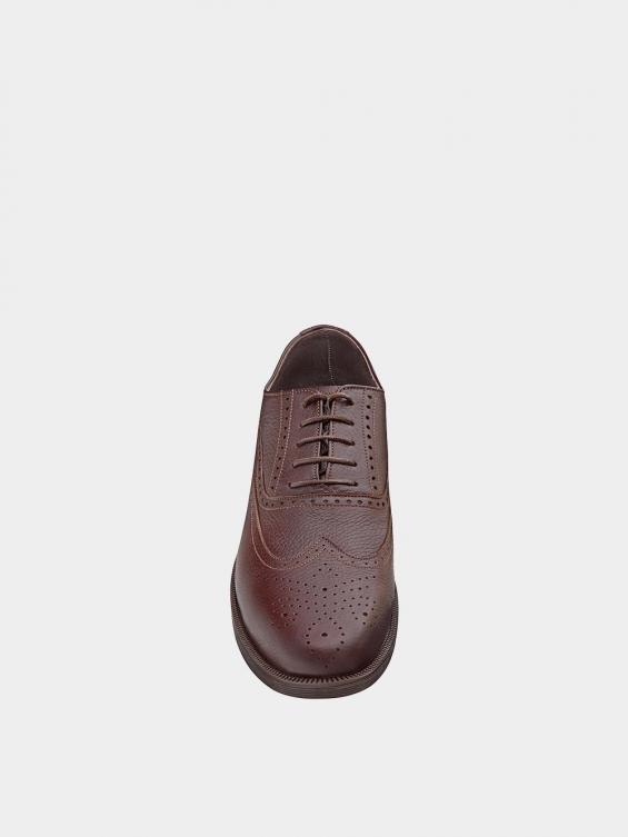 کفش کلاسیک مردانه کیمبرلی MS2030 قهوه ای نمای جلو