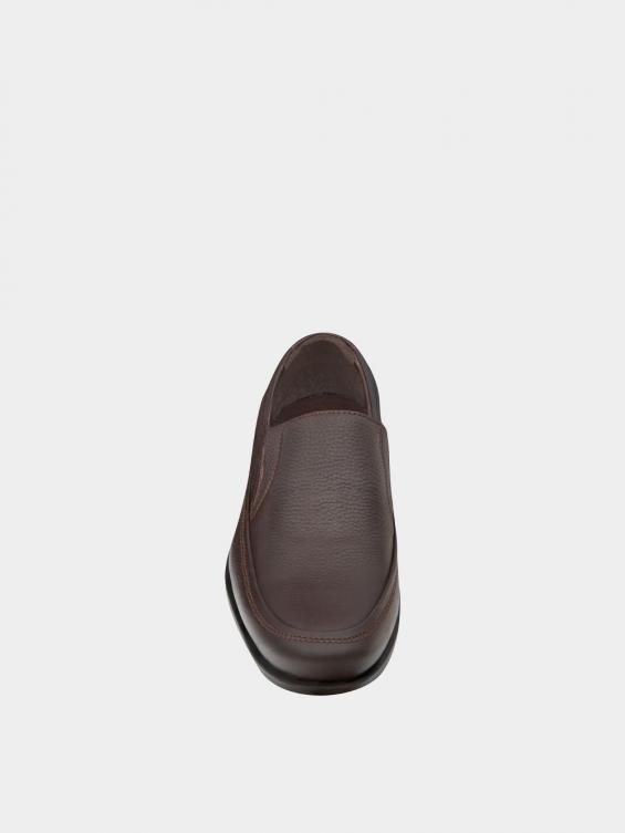 کفش کلاسیک مردانه 2101 MS2242 قهوه ای نمای جلو