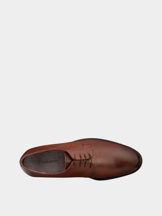 کفش کلاسیک مردانه MS2344 777 عسلی نمای داخل