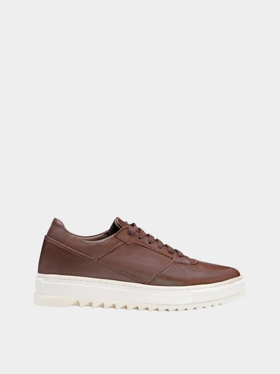 کفش اسپورت مردانه 7014 MS2520 قهوه ای راست