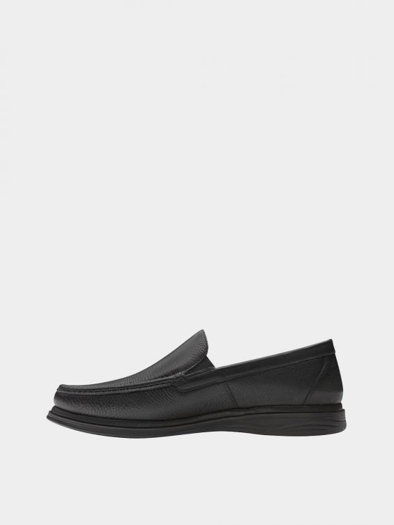 کفش کالج مردانه 6220 MS2773 مشکی نمای چپ