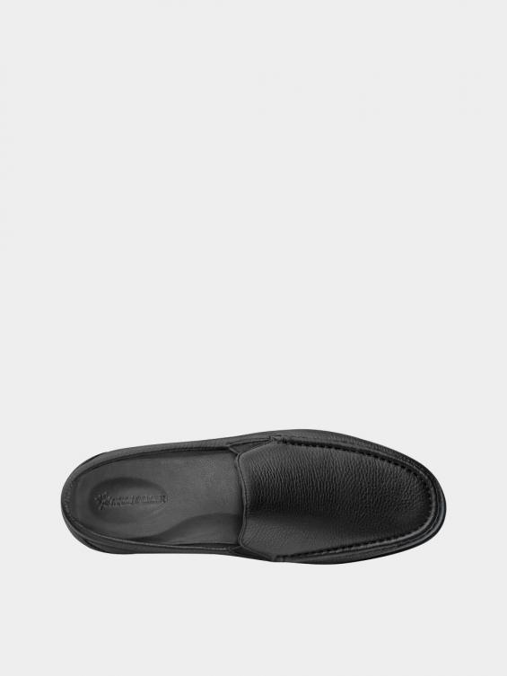 کفش کالج مردانه 6220 MS2773 مشکی نمای داخل