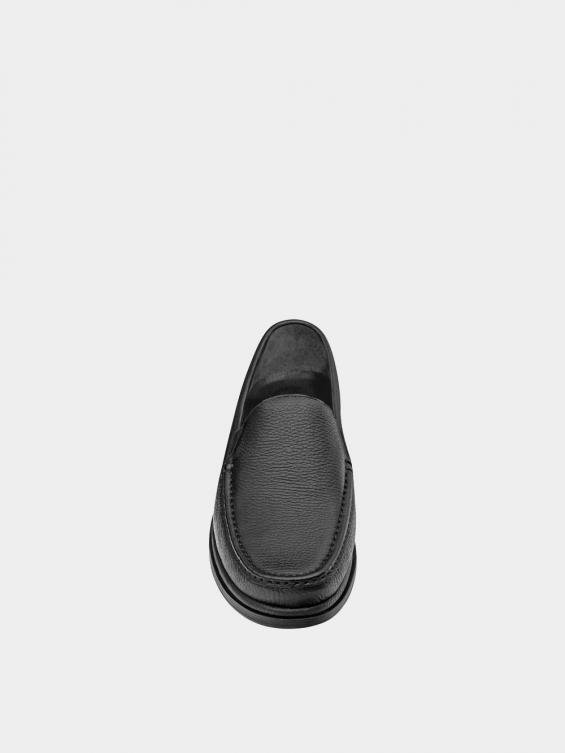 کفش کالج مردانه 6220 MS2773 مشکی نمای جلو