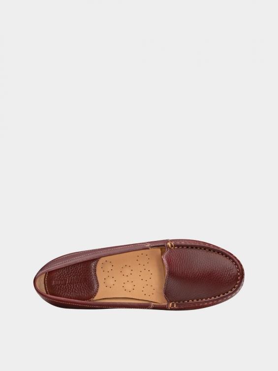کفش کالج زنانه درنا WS2805 زرشکی نمای داخل