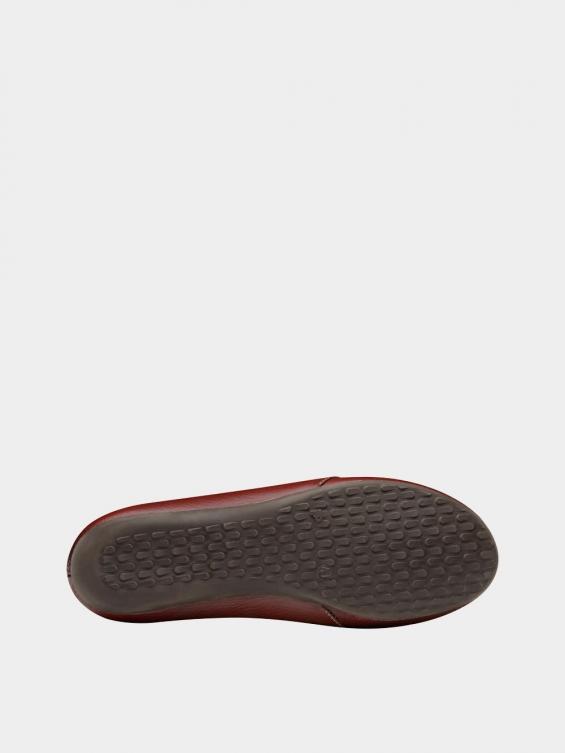 کفش کالج زنانه درنا WS2805 زرشکی نمای زیره