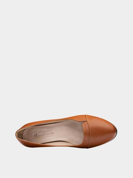 کفش مجلسی زنانه 9007 WS3110 عسلی نمای داخل