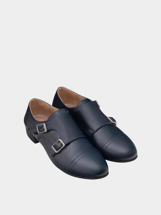 کفش مجلسی زنانه 0026 WS3150 سرمه ای نمای جفت