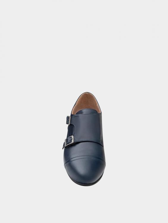 کفش مجلسی زنانه 0026 WS3150 سرمه ای نمای جلو