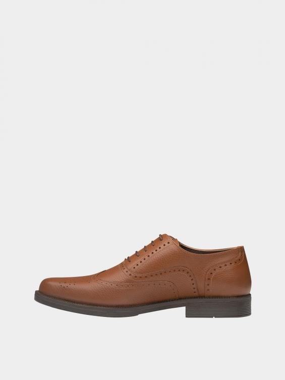 کفش کلاسیک مردانه کیمبرلی MS2030 عسلی چپ