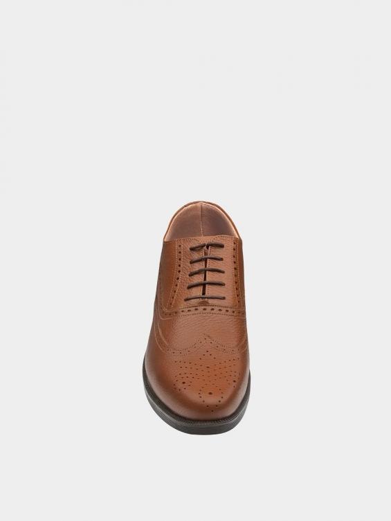 کفش کلاسیک مردانه کیمبرلی MS2030 عسلی نمای جلو
