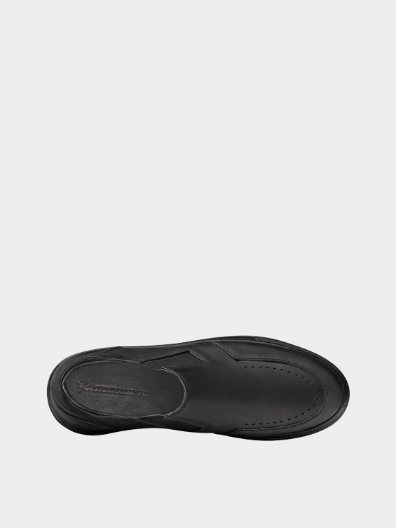 کفش اسپورت مردانه 7015 MS2521 مشکی نمای داخل