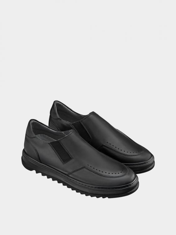 کفش اسپورت مردانه 7015 MS2521 مشکی نمای جفت