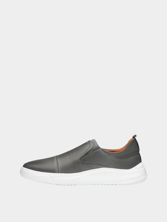 کفش اسپورت مردانه 1370 MS2794 طوسی چپ
