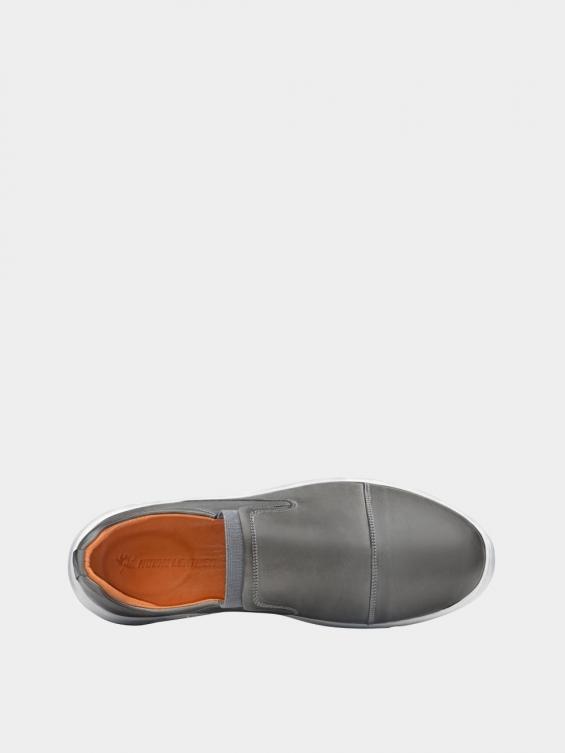 کفش اسپورت مردانه 1370 MS2794 طوسی نمای داخل