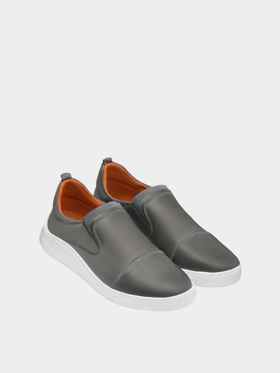 کفش اسپورت مردانه 1370 MS2794 طوسی نمای جفت