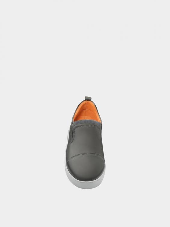 کفش اسپورت مردانه 1370 MS2794 طوسی نمای جلو