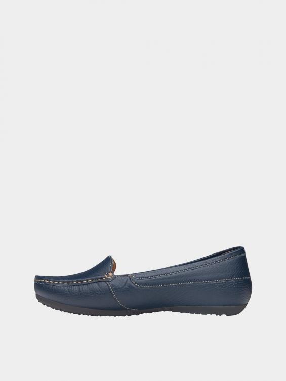 کفش کالج زنانه درنا WS2805 سرمه ای چپ