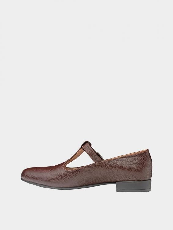 کفش کلاسیک زنانه 1003 WS2991 قهوه ای چپ
