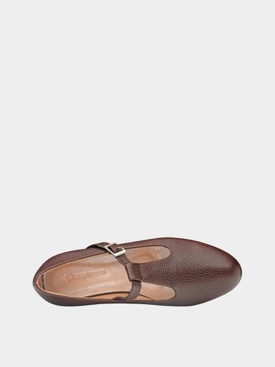 کفش کلاسیک زنانه 1003 WS2991 قهوه ای نمای داخل