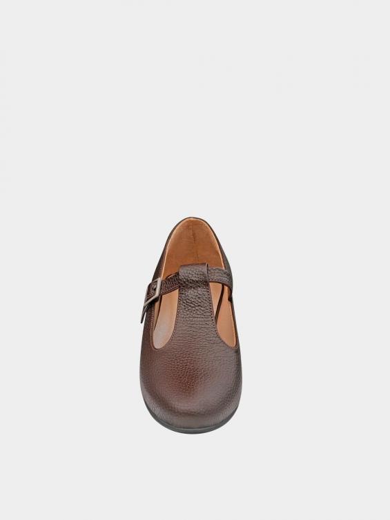 کفش کلاسیک زنانه 1003 WS2991 قهوه ای نمای جلو