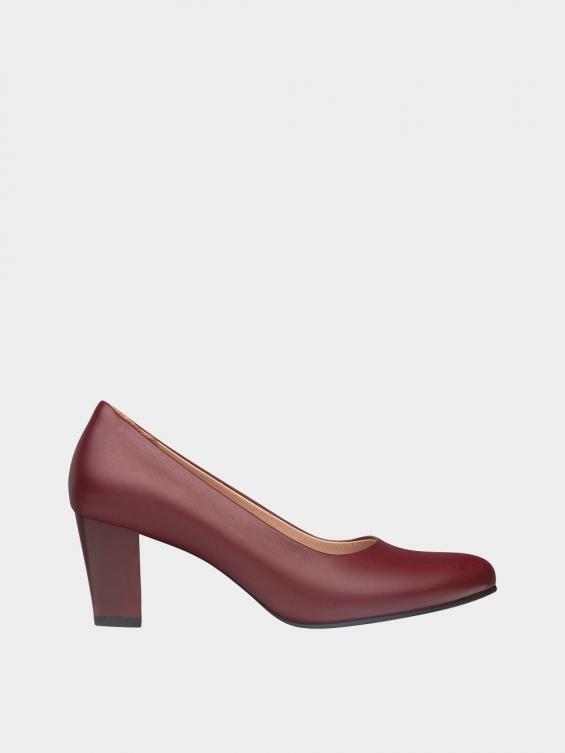 کفش مجلسی زنانه 700 WS3014 زرشکی راست