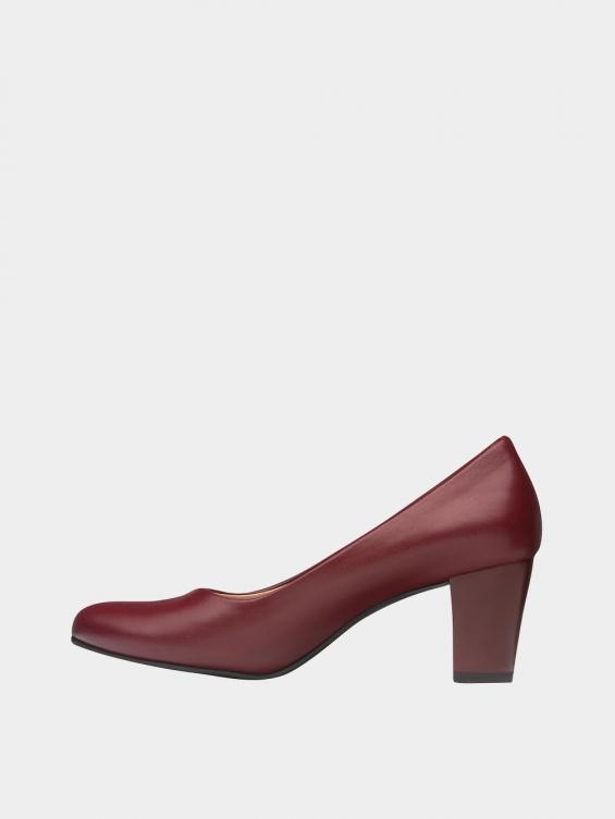 کفش مجلسی زنانه 700 WS3014 زرشکی چپ
