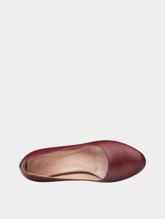 کفش مجلسی زنانه 700 WS3014 زرشکی نمای داخل